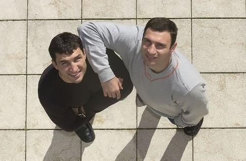 Klitschko brothers Vitaliy and Vladimir