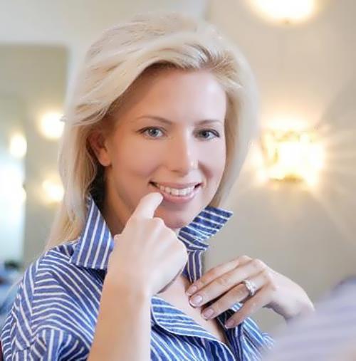 Svetlana Maniovich, known socialite