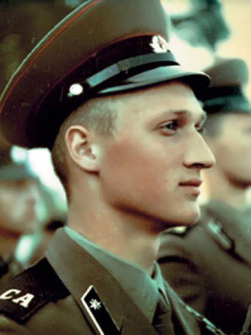 Kutsenko in the army