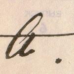 Akmatova's signature