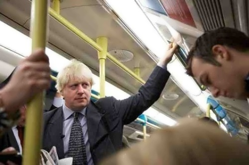 Boris in public transport