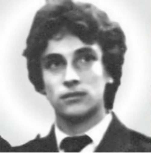 Nagiev in his youth