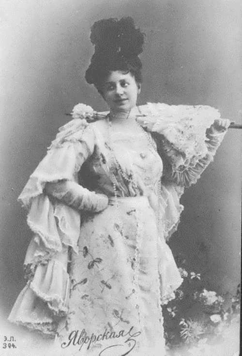 Lydia Yavorskaya, Theater Star