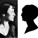 Silhouette by N.V. Khlebnikova, 1930