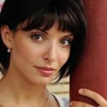 Attractive actress Yulia Agafonova