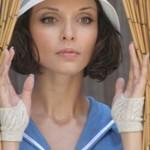 Pretty Russian actress Yulia Agafonova