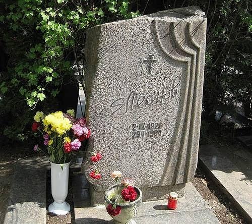 leonov grave