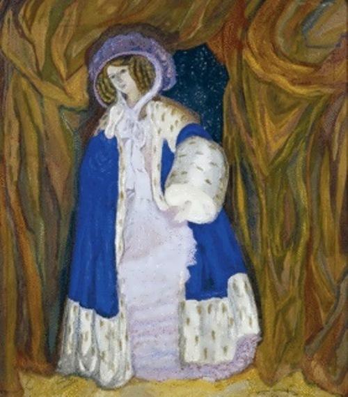 Glebova-Sudeikina Portrait