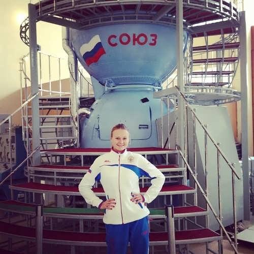 Patskevich Alexandra synchronized swimmer