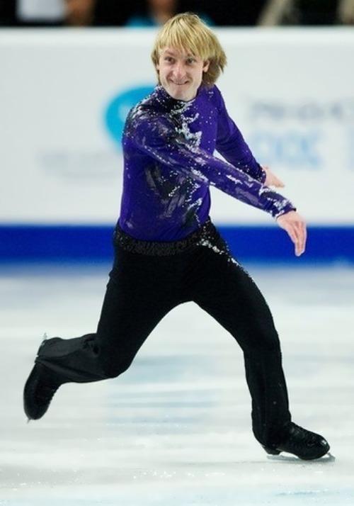 Eugene Plushenko great figure skater
