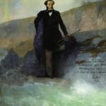 Pushkin by Aivazovsky
