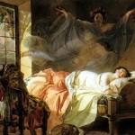 bryullov Dream of a young girl
