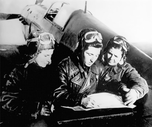 Liliya Litvyak, Katya Budanova, Mariya Kuznetsova