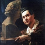 bryullov Portrait of the sculptor Ivan Vitali