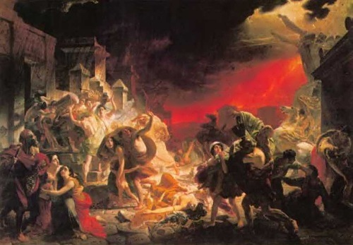 bryullov The Last Day of Pompeii
