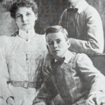 Margaret Mikluho - Maclay with sons Alexander and Vladimir