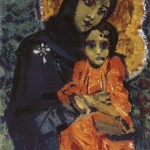 vrubel Virgin and Child. 1884-1885