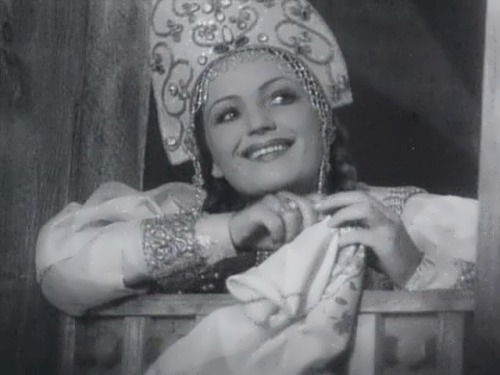 G. Grigorieva, beautiful Soviet theater and film actress