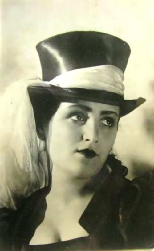 G. Grigorieva, beautiful Soviet theater actress
