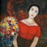 Chagall. Portrait of Vava