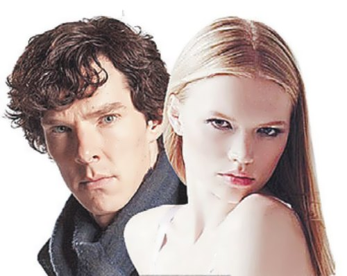 Elizarova and Benedict Cumberbatch
