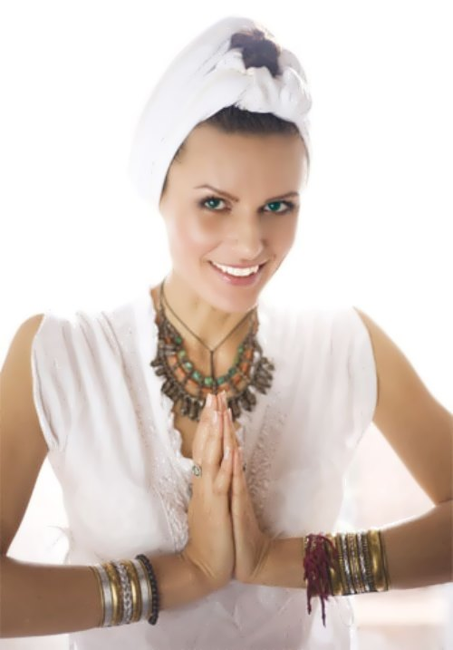 M. Kalinina – yoga coach