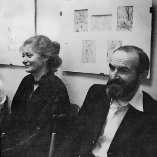 Bulatov and his wife