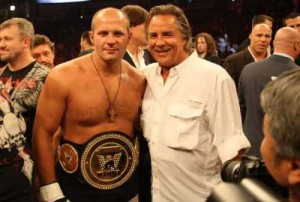Emelianenko and Donald Trump