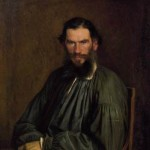 Kramskoy. Portrait of Tolstoy