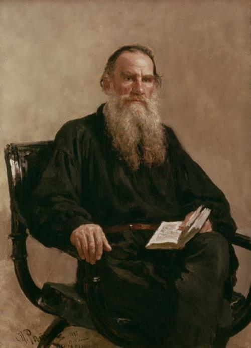 Ilya Efimovich Repin. Lev Tolstoy