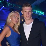 Pavel Pogrebnyak and his wife Maria