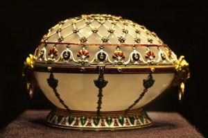 Renaissance egg Faberge