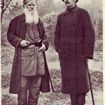 Tolstoy and Maxim Gorky
