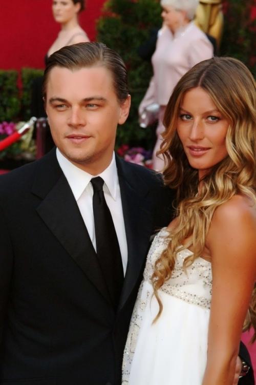 DiCaprio Gisele Bundchen