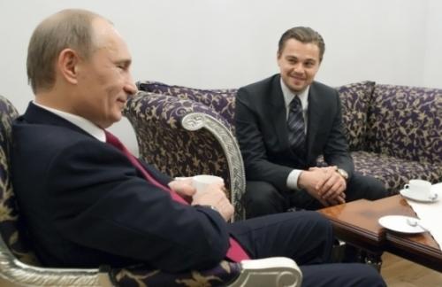 DiCaprio Putin