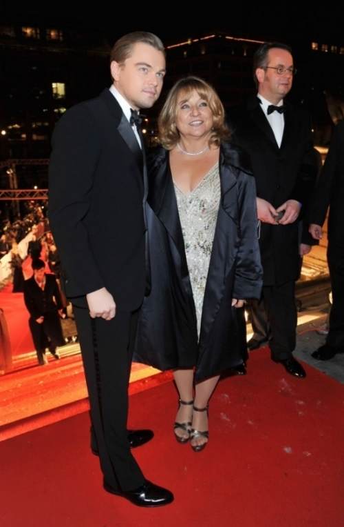 Leo with his mother