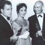 Michael Todd, Elizabeth Taylor and Yul Brynner