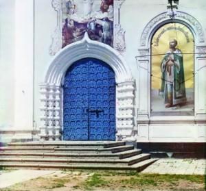 Preobrazhensky Cathedral Prokudin-Gorsky