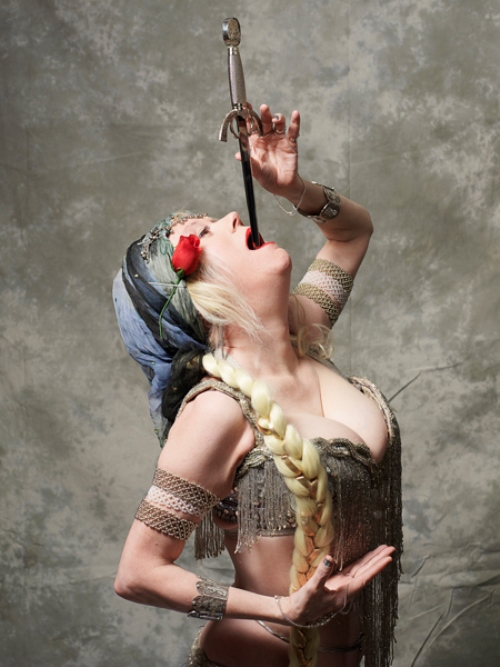 Natasha Verushka - Sword Swallower