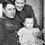 Family of Alexander Pokryshkin