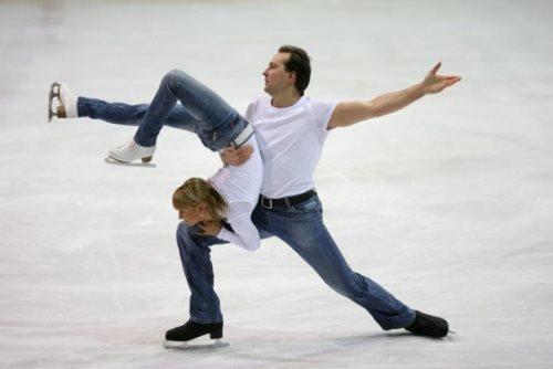 Tatiana Volosozhar and Stanislav Morozov