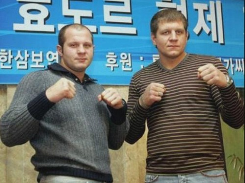 Emelianenko brothers