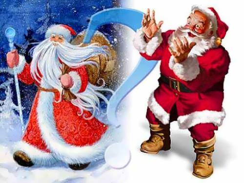moroz and santa