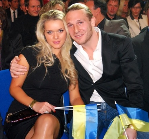 Yulia and Andrei Voronin