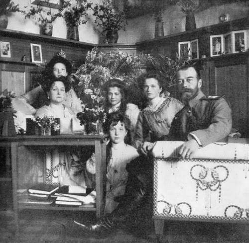 Romanovs family