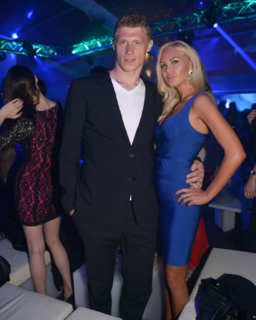 Maria and Pavel Pogrebnyak