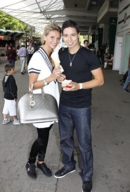 Tatiana Golovin and Samir Nasri