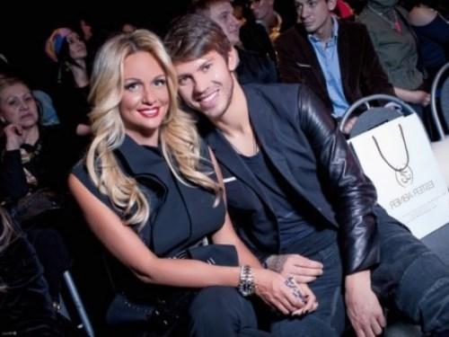 Fyodor Smolov and Victoria Lopyreva