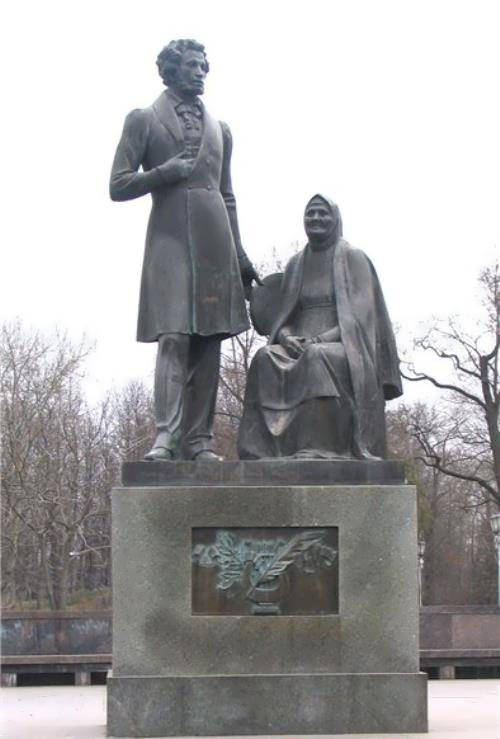 Arina Rodionovna and Pushkin