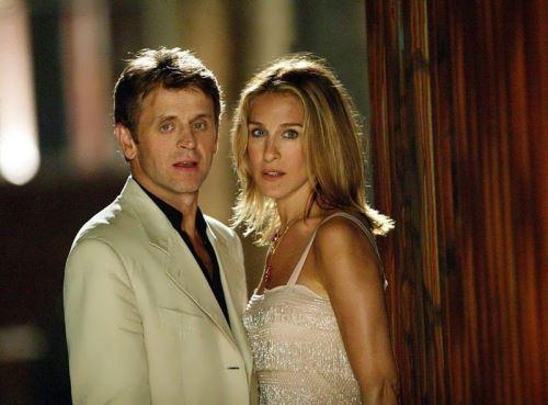 Baryshnikov and Sarah Jessica Parker